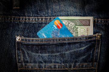 Platba kartou na dovolenke