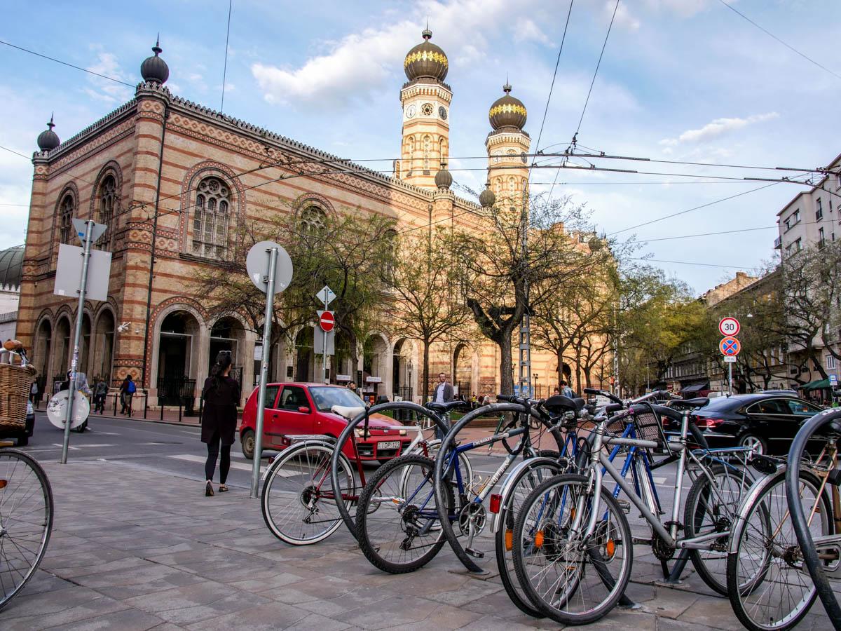 Židovská synagóga v Budapešti