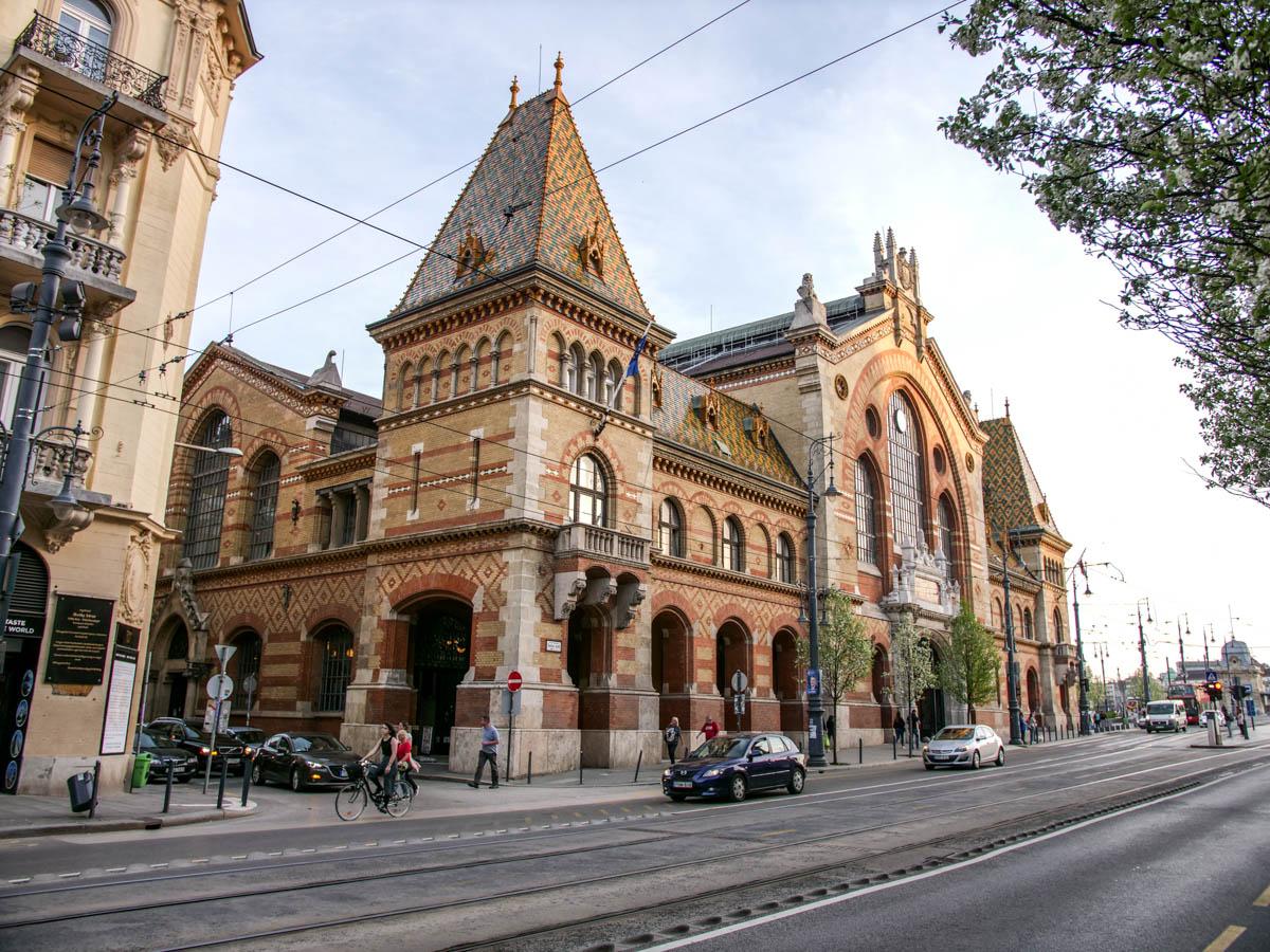 Krytá tržnica v Budapešti