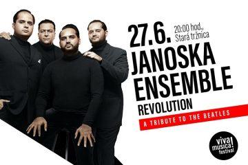 Svetoznáme zoskupenie Janoska Ensemble uvedie v slovenskej premiére nový projekt Revolution