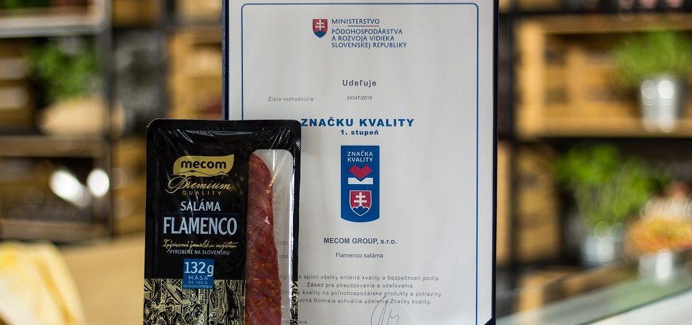 Spoločnosť Mecom dostala Značku kvality na sedem produktov