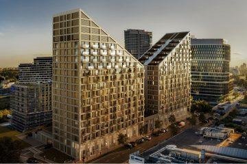 Metropolis v lokalite Mlynské nivy spúšťa predaj bytov